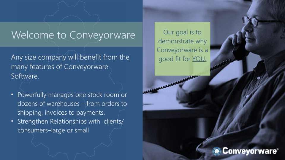 Welcome to Conveyorware.